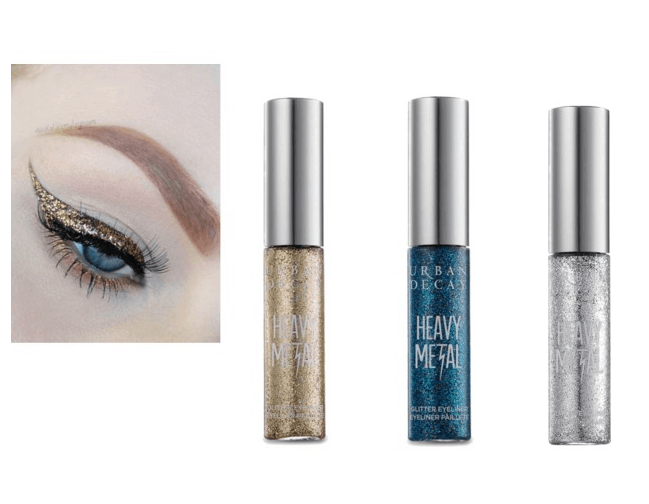 glitter liner shades and eye makeup