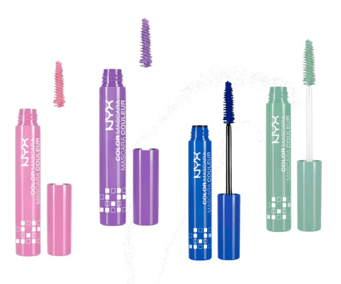 shades of colorful mascara by NYX
