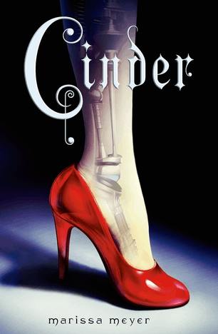 Best fiction books for college students: Cinder by Marissa Meyer