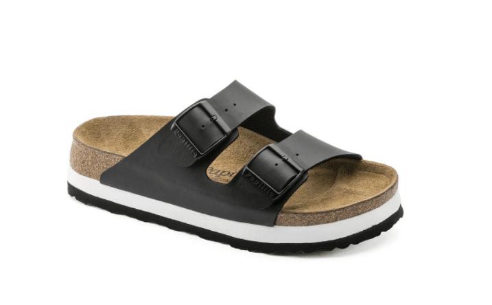 Platform Birkenstock sandals
