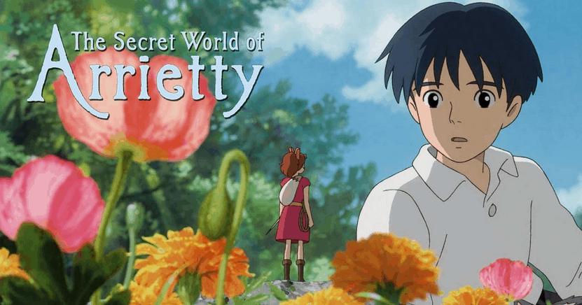 The Secret World of Arietty movie screen shot