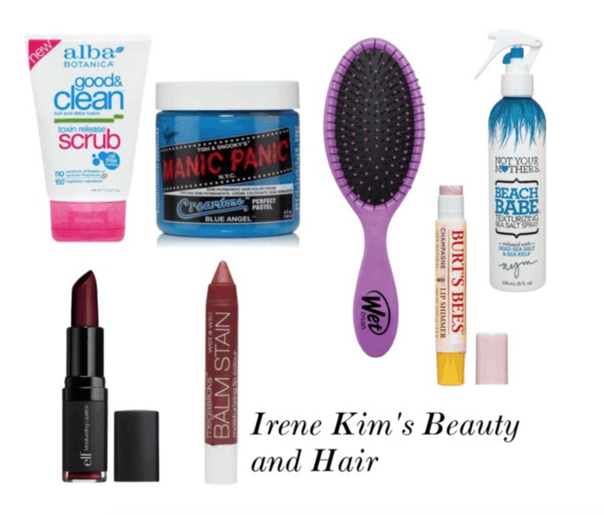Irene Kim's Beauty essentials