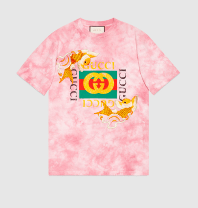 5ecd9aee7 Women's cotton tie dye tee for ready-to-wear collection by Gucci