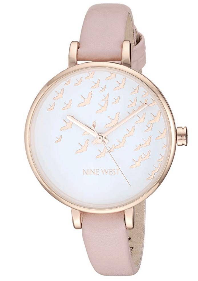 Pink Nine West Watch.