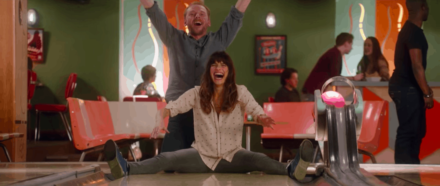 Man Up - Simon Pegg - Lake Bell
