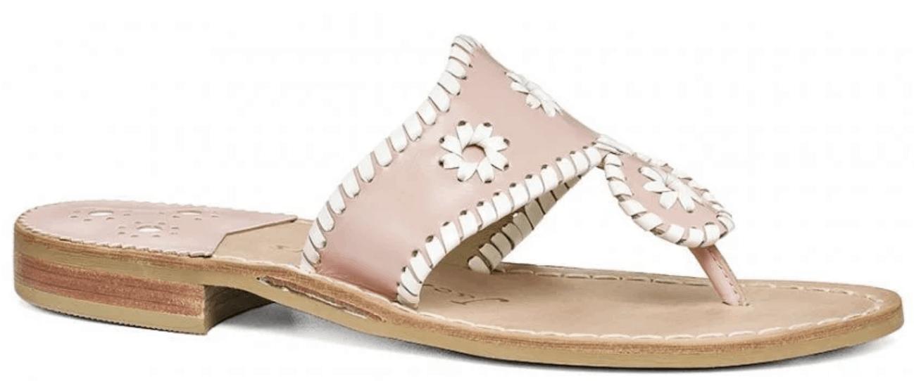 Pink Jack Rogers Sandals.
