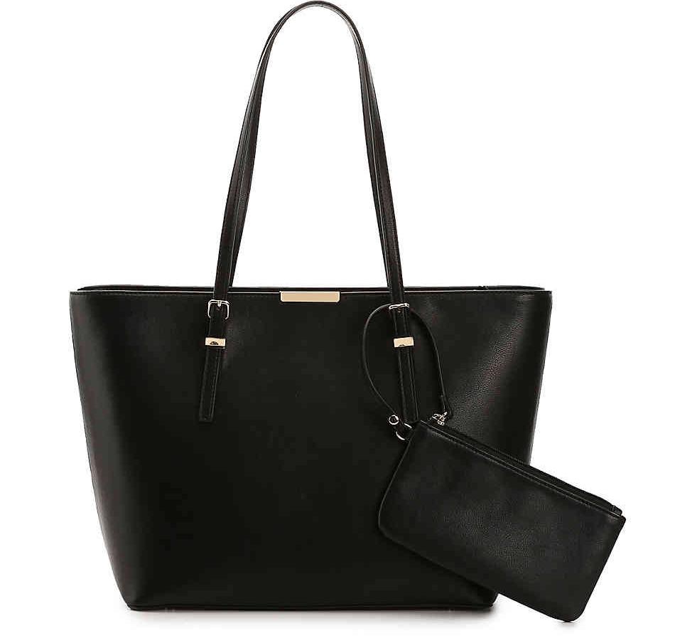 Black Tote Bag.