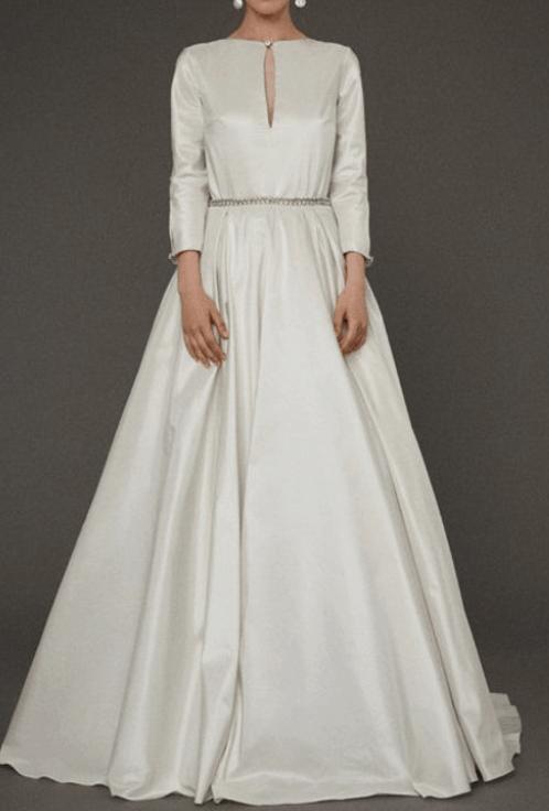 Amber's Wedding Dress