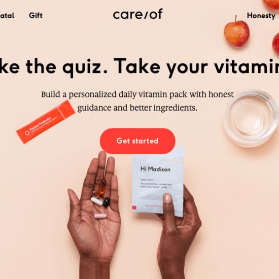 care-of-screenshot-website