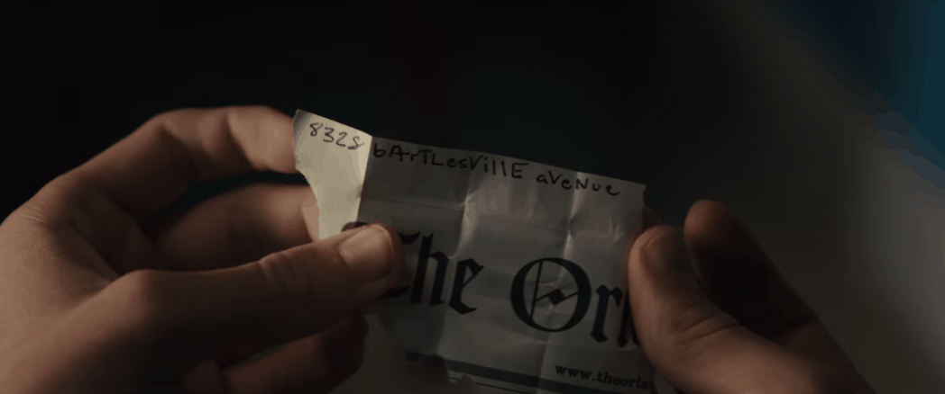 Paper Towns Clue
