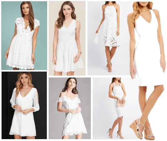 white-dress-for-graduation