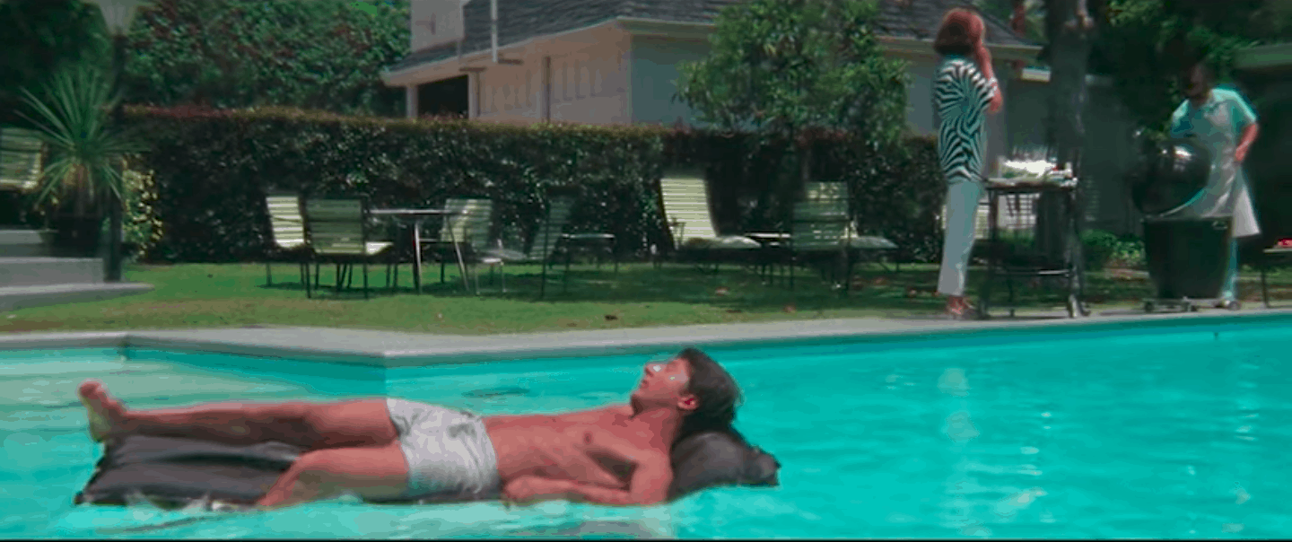 Benjamin's backyard in the graduate