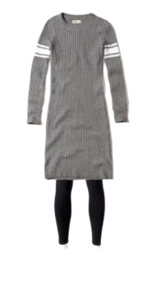 Long dress and leggings