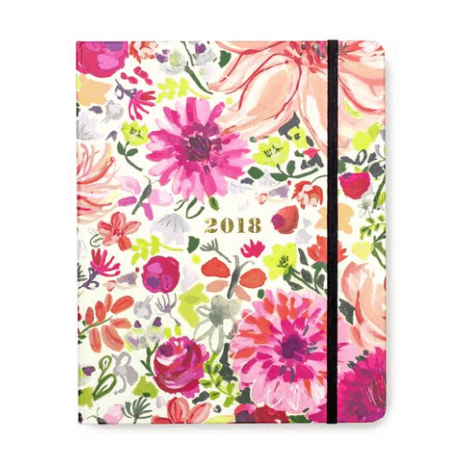 Best 2018 planners and agendas: Kate Spade floral print 2018 planner