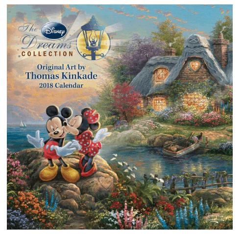 Best 2018 planners and agendas: Disney wall calendar