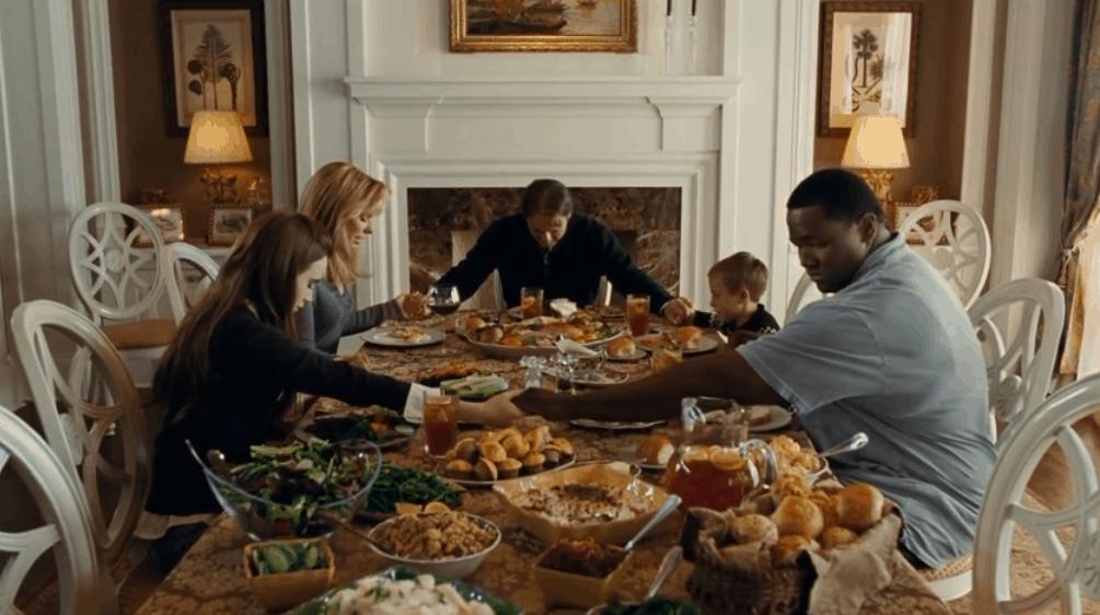 The Blind Side Thanksgiving Dinner