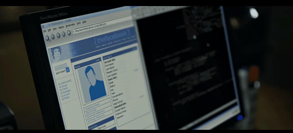 Facebook Mark Computer Screen