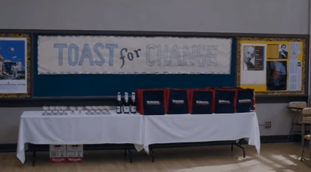 Freedom Writers Toast for Change