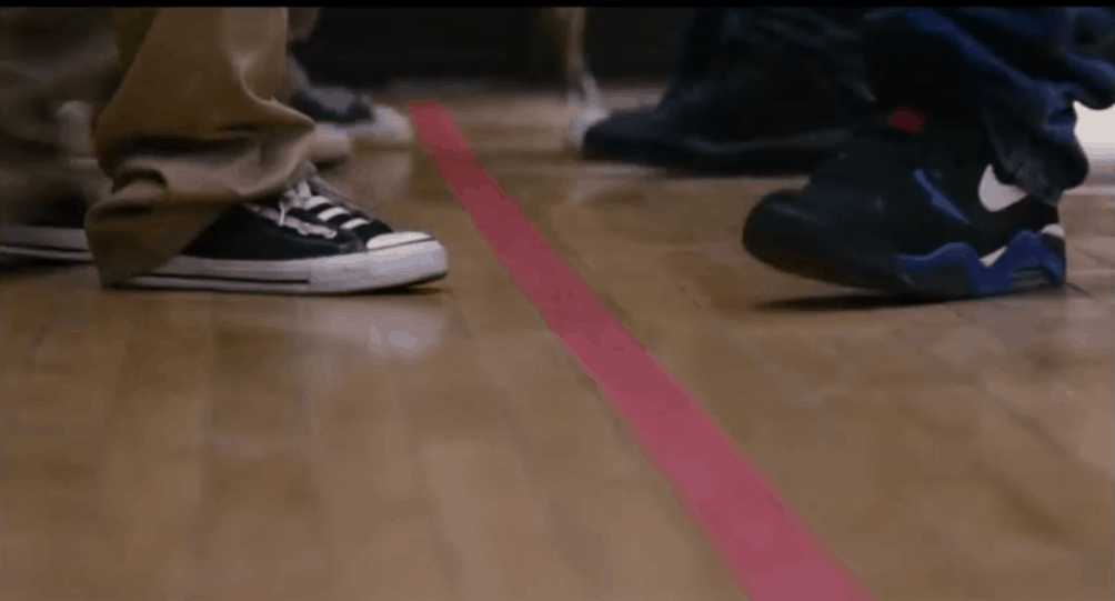 Freedom Writers Line Game Red Tape