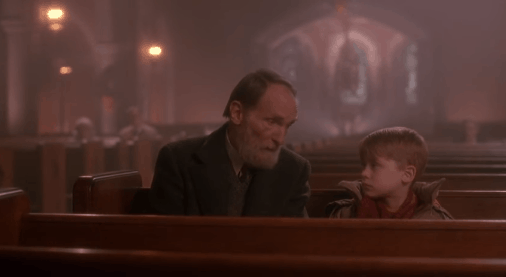 Home Alone Kevin Meets Old Man Marley