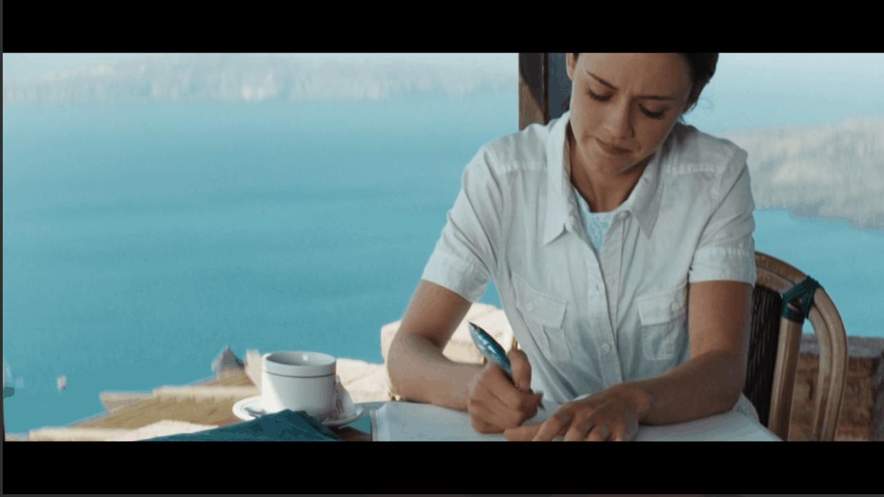 Lena Writing Letter Sisterhood of Traveling Pants