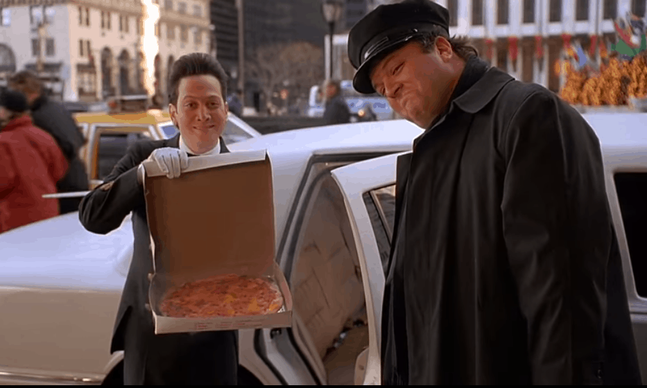 Home Alone 2 Pizza and Limo