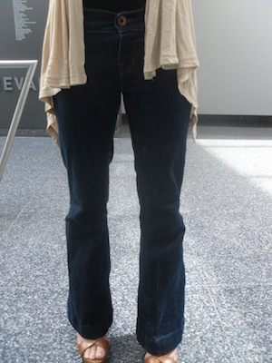 Syracuse University fashion trend - flared pants