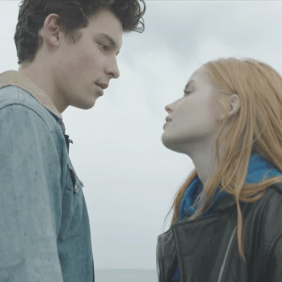 """Screenshot from the music video for """"There's Nothing Holdin' Me Back,"""" by Shawn Mendes"""