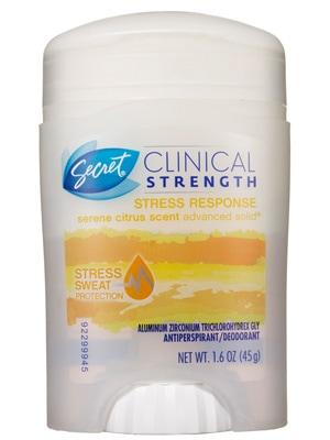 Secret clinical strength stress response deodorant