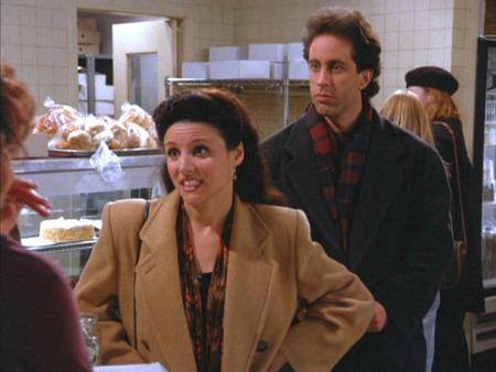 Couples Halloween costume ideas: Seinfeld and elaine