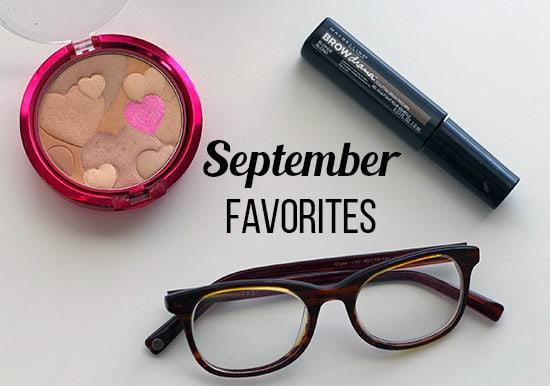 September favorites header