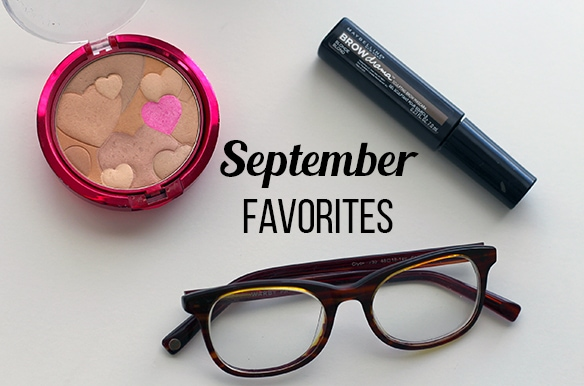 September favorites header