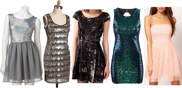 Sequin dresses under $50