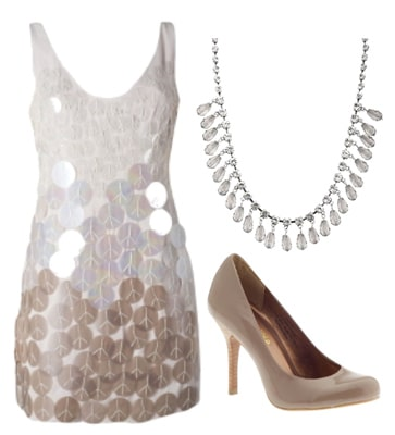 Sequined dress to wear to a spring formal