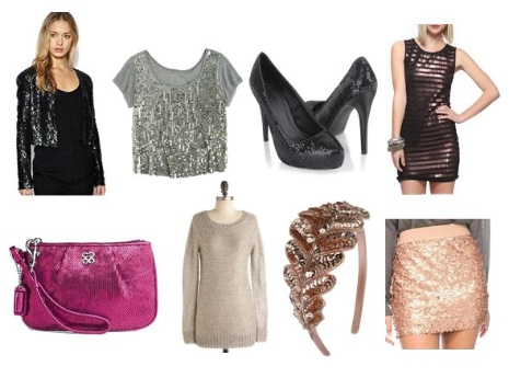 Sequined Pieces