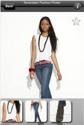 seventeen-fashion-finder-screenshot