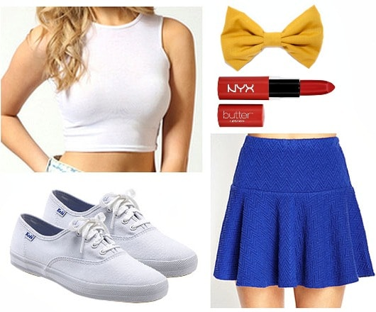 Shake it off cheerleader outfit