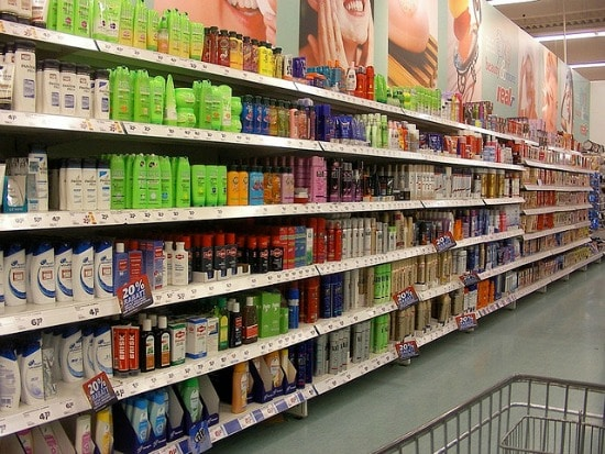 The shampoo aisle