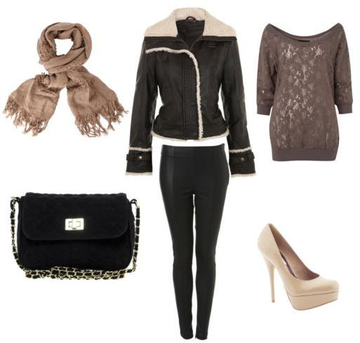Shearling Sample Outfit 2