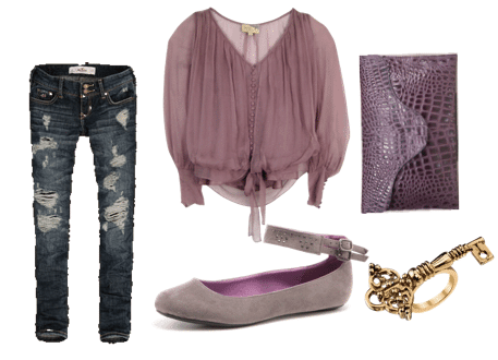Sheer fashion trend outfit