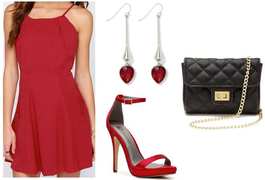 Shes All That Red Dress Outfit
