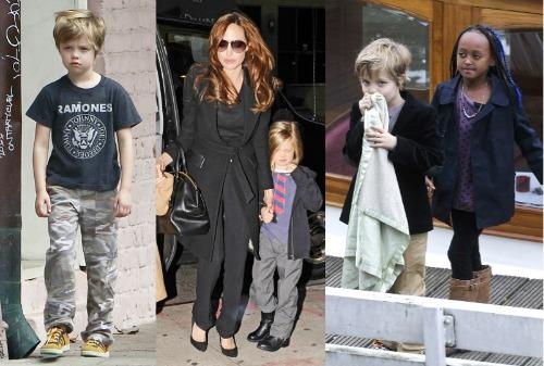 Shiloh Jolie-Pitt style