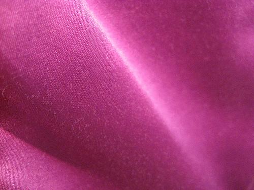 Shiny pink fabric