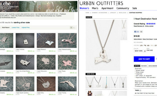 Shiny Things, UO Necklaces