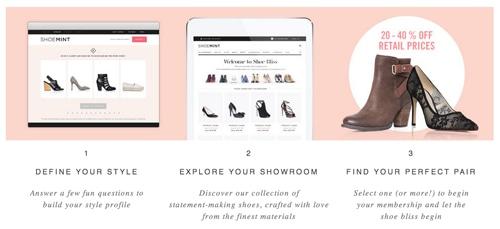 Shoe mint description
