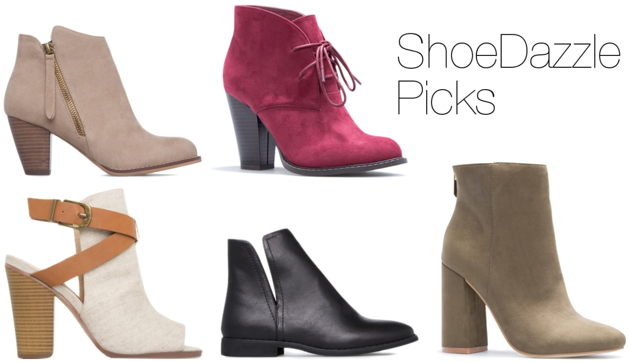 ShoeDazzle boots for Fall 2016