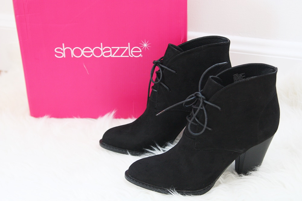 Shoedazzle oxford booties