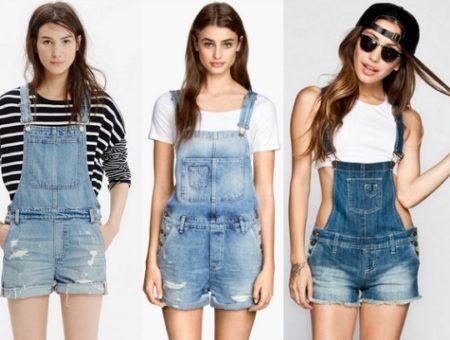 short overalls