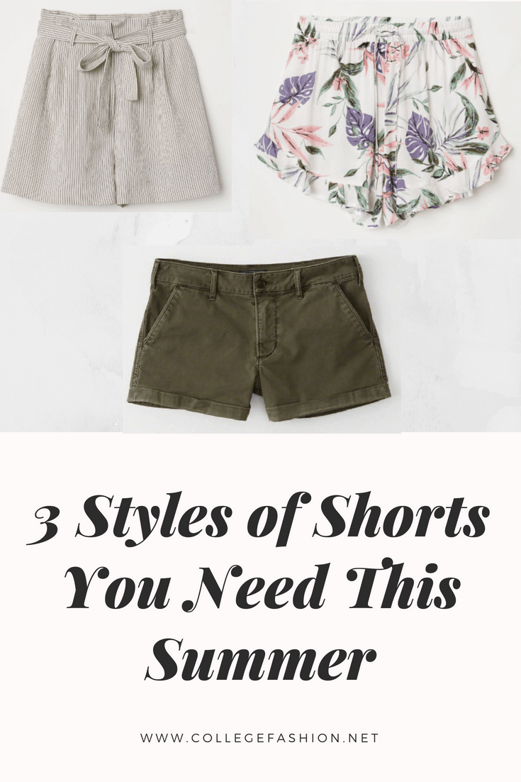The best shorts styles you need for summer