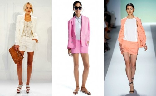 Short Suit Spring Collections